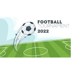 soccer championship design element vector image