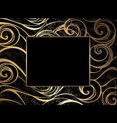 luxury sea background vector image vector image