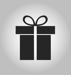Icon gift vector