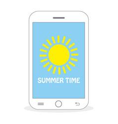 Summer time - sun vector