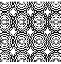 Black and white shapes background vector