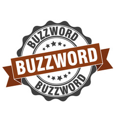 Buzzword stamp sign seal vector
