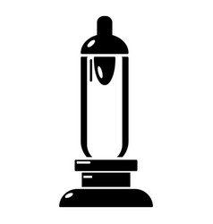 car candle icon simple black style vector image