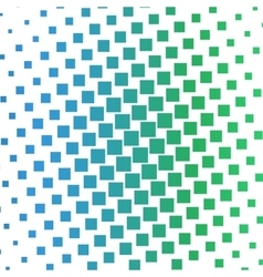 Color squares halftone gradient pattern vector