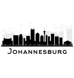 Johannesburg City skyline vector