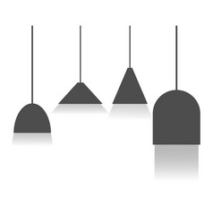 Lighting template design vector