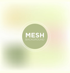 mesh background in olive shades vector image