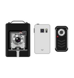 Photo and camera vector