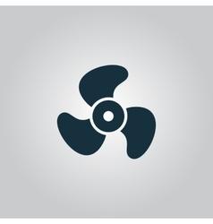 propeller icon vector image
