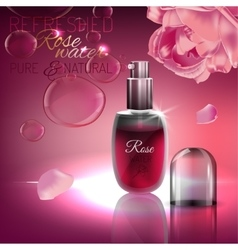 Rose Water Image vector