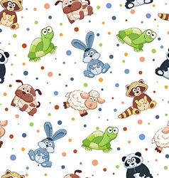 Toys pattern vector