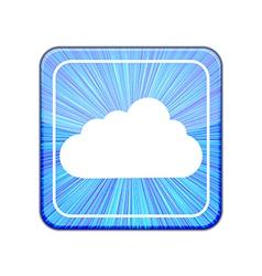 version Cloud icon Eps 10 vector image