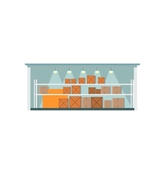 Warehouse Interior Icon vector