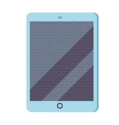 Tablet infographic icon flat vector image