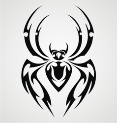 Tribal Spiders vector image vector image