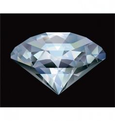 diamond illustration vector image vector image