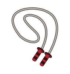 fitness jump rope vector image