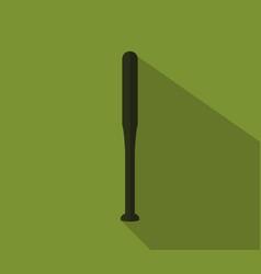 baseball bat icon vector image