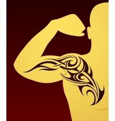 Body art tattoo vector