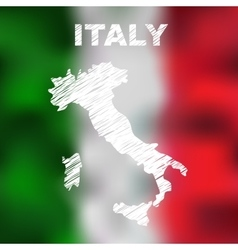 Italian Abstract Map vector