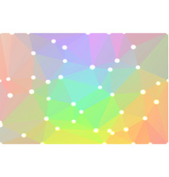 Light rainbow geometric background with lights vector