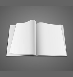 open white page design background vector image