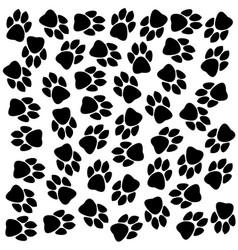 Traces of animals texture vector