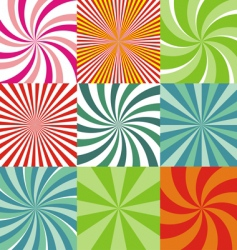 radiant backgrounds vector image