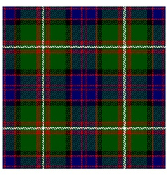 Clan Donald Tartan Plaid Pattern Seamless Design vector image vector image