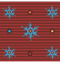 snow flake 3 vector image vector image