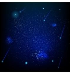 Space abstract star field EPS 10 vector image