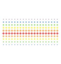 air drone shape halftone spectrum effect vector image