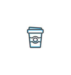 coffee icon design gastronomy icon vector image