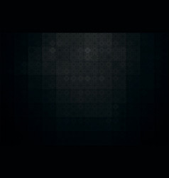 dark abstract background with black tile vector image