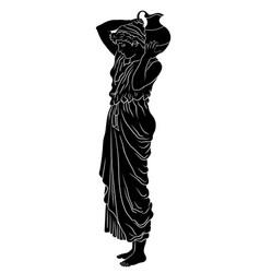 Greek women vector