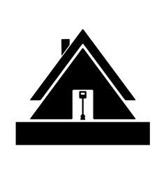 lodge vector image