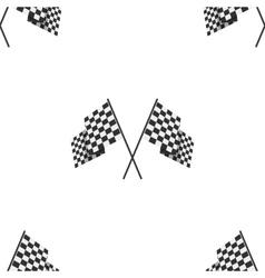 Racing flag seamless background vector