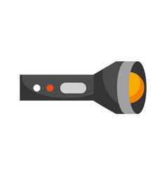 flash lantern isolated icon vector image