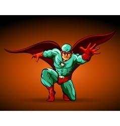 Super Hero vector image