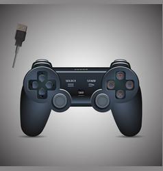 Gamepad Joystick Joystick game console Realistic vector image vector image