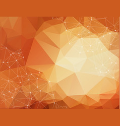 abstract polygonal pastel tone background vector image