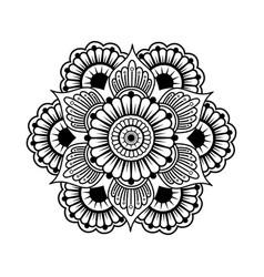 Artistic mandala design vector