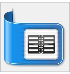Icon of a Book vector image vector image