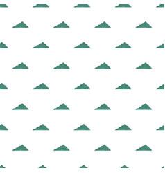 Mountain landscape pattern seamless vector