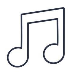 Music icon cartoon vector