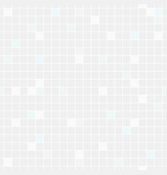 pale blue and grey squares seamless background vector image
