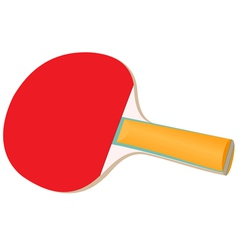 Racket for table tennis vector image