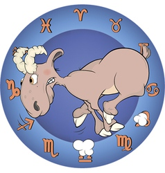 Chinese horoscope cartoon vector image vector image