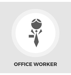 Human flat icon vector image
