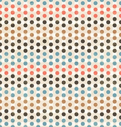 point seamless pattern vector image vector image